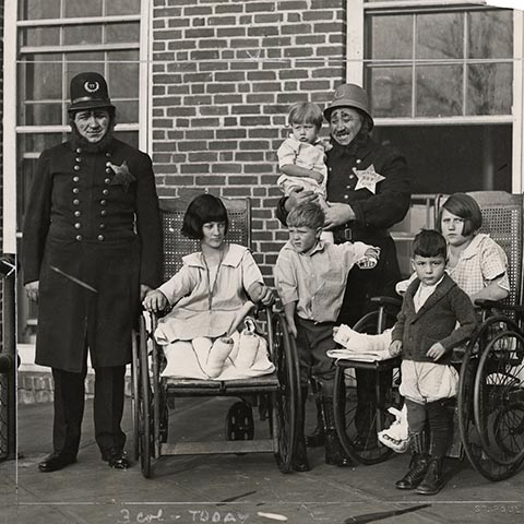 HISTORY NOTE: Shriners have a long legacy of fellowship and service to children with disabilities
