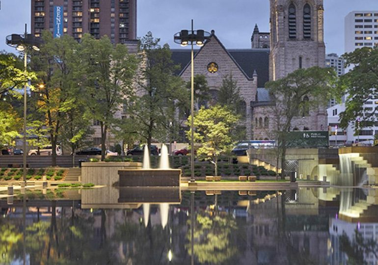 Peavey Plaza wins award for design