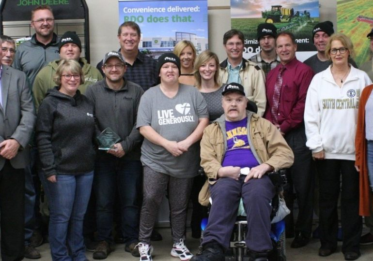 Providing jobs for people with disabilities brings kudos