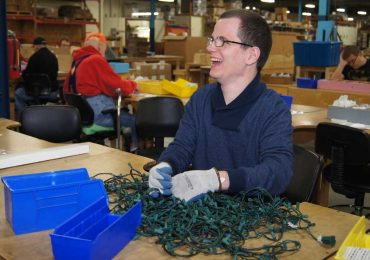 Old cords, light strings can be recycled to provide employment