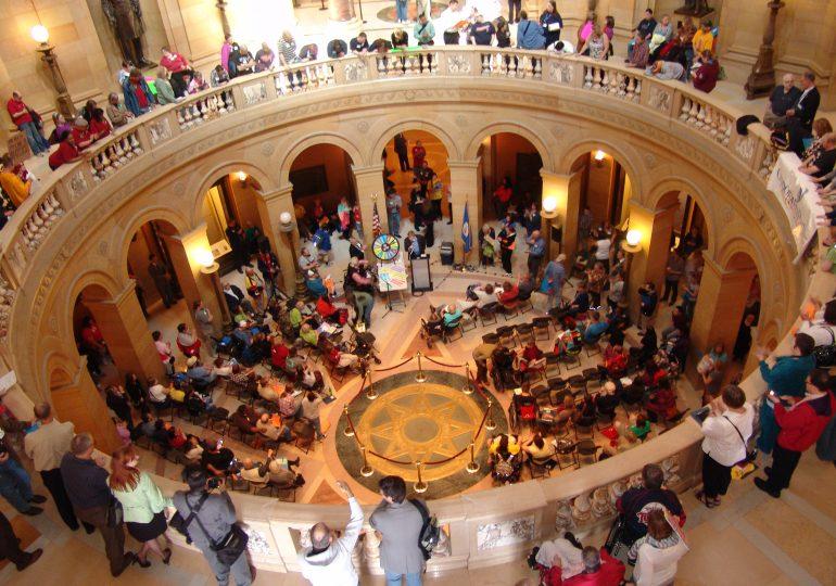 Rallies, advocacy days help get community's message across