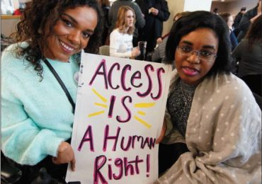 Disability and human rights are first big rally's focus