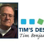 Tim's Desk — April 2021
