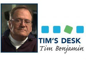 Tim's Desk – January 2021