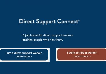 Direct Support Connect website gets a makeover