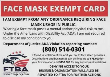 Beware of false mask claims, officials say