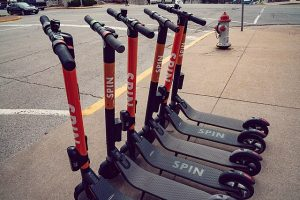 Scooters return to cities