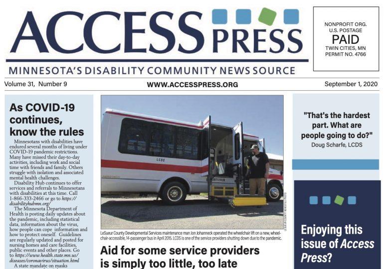 Access Press - September 2020 Edition