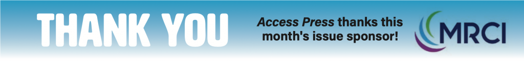 Access Press thanks MRCI, this month's issue sponsor