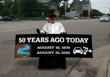 Fifty years ago this summer, he began his life-changing journey