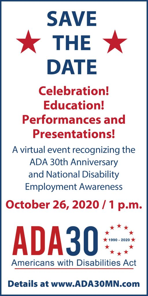 ADA 30th Anniversary Celebration ad