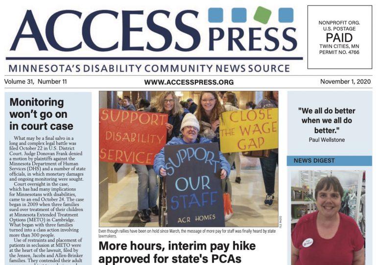 Access Press - November 2020 Edition