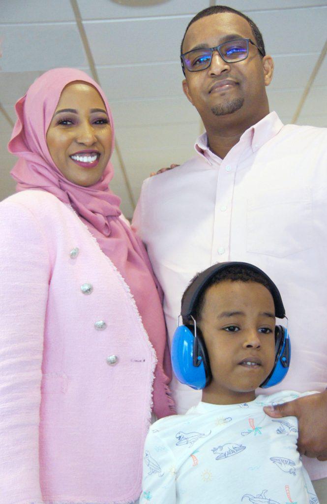 Deqa Farah and family